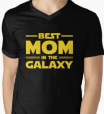 Best Mom in The Galaxy Men's V-Neck T-Shirt