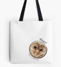 Pearl the Barn Owl Tote Bag