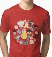 Star vs. the Forces of Evil Characters Tri-blend T-Shirt