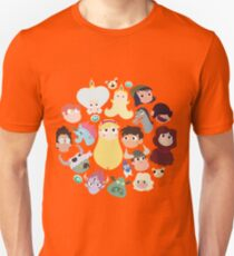Star vs. the Forces of Evil Characters T-Shirt
