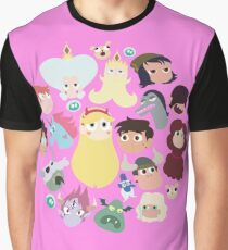 Star vs. the Forces of Evil Characters Graphic T-Shirt