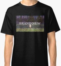 Camiseta clásica Nuevo logo texturizado del arte del álbum