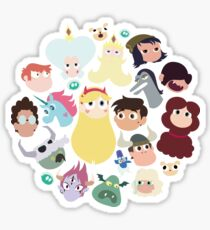 star vs the forces of evil stickers redbubble