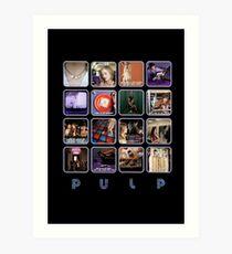 Pulp - Disco 2000 Art Print
