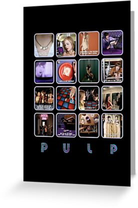 Pulp disco 2000 greeting cards by radiodesigns redbubble pulp disco 2000 by radiodesigns m4hsunfo