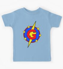 My Cute Little Super Hero - Letter G Kids Clothes