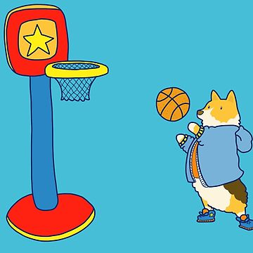 Corgi's are Basketball Stars! by KayleighCastle