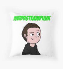 Smirking Lukas Throw Pillow