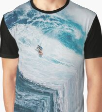 Surfing A Flat Earth Graphic T-Shirt