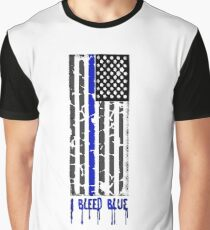 I Bleed Blue Graphic T-Shirt