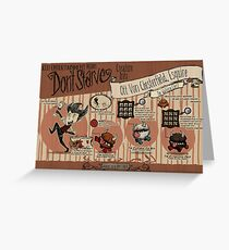 Don't Starve- Chester Greeting Card