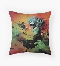Heavy Angel - Battle at the Gate of Hell Throw Pillow