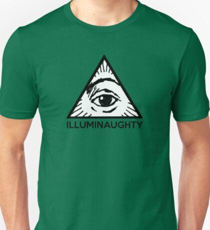 Illuminaughty - All Seing Eye Pyramid T-Shirt