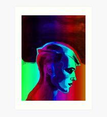 Man Spectrum Edge by Vyse Art Print