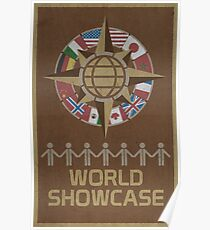 World Showcase Poster