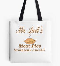 Sweeney Todd - Mrs. Lovett's Meat Pies Tote Bag