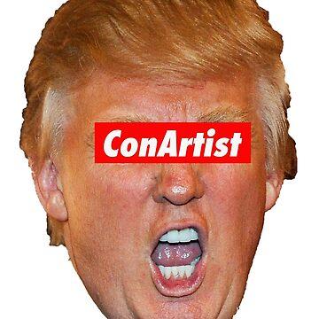 Trump Con Künstler von Thelittlelord