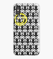 Sherlock Wallpaper Design iPhone Case/Skin