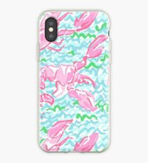 Lilly Pulitzer Lobster Roll iphone 5 and 6 snap case iPhone Case