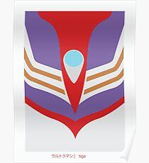 Ultraman Tiga Poster