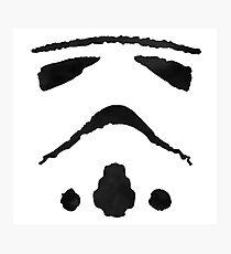 Rorschach Storm Trooper Photographic Print