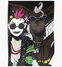 Tank Girl and Booga Poster