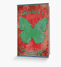 two tone butterfly Greeting Card