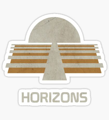 Horizons Sticker