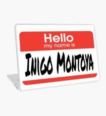 The Princess Bride Quote - Hello My Name Is Inigo Montoya Laptop Skin