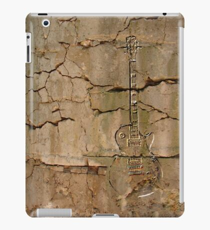 guitar cracks iPad Case/Skin