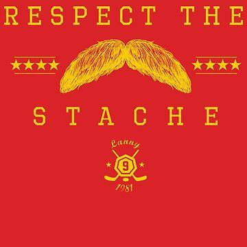 Respect the Stache by johnbjwilson