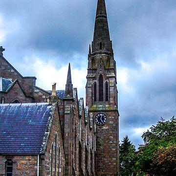 A Scotland Church by sherfin