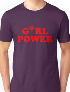 Girl Power Rose Cute Unisex T-Shirt