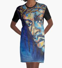 Black Jesus I Graphic T-Shirt Dress