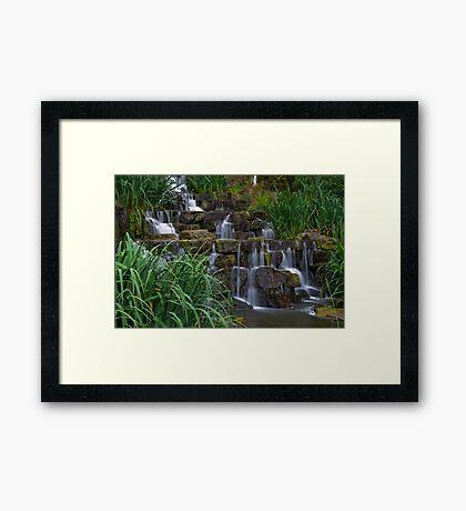 Regents park falls Framed Print