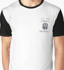 Singlish Pictorial: Formal, Formula Graphic T-Shirt