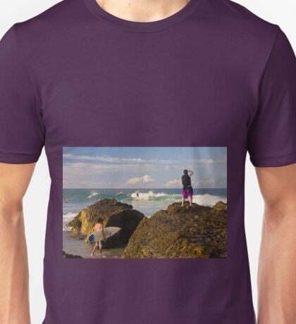 Surfing photographer at work T-Shirt