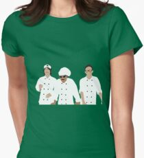 Menschlicher Kuchen Tailliertes T-Shirt