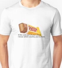 Coffee Crisp Canadian Unisex T-Shirt