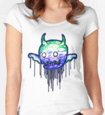 Cute lil Demon Women's Fitted Scoop T-Shirt