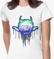 Cute lil Demon Womens Fitted T-Shirt