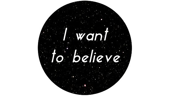 I want to believe by Julia Gorst