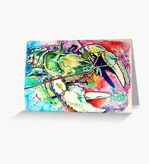 Murray Crayfish Greeting Card