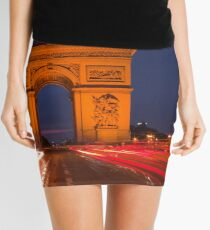 Traffic at Arc de Tiromphe Mini Skirt