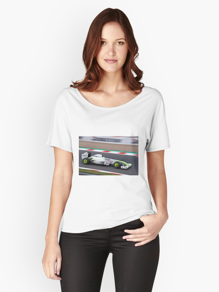 Jenson Flying Women's Relaxed Fit T-Shirt Front