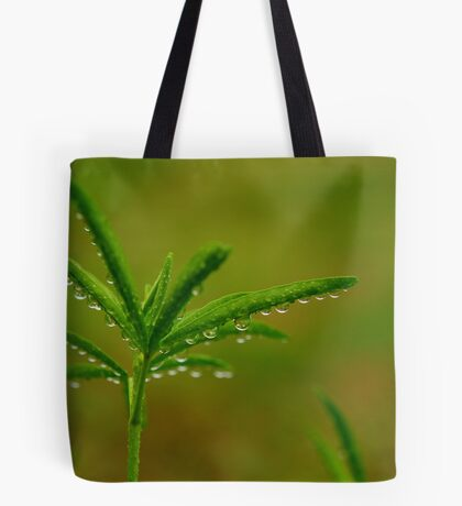 Refreshing Light Rain Tote Bag
