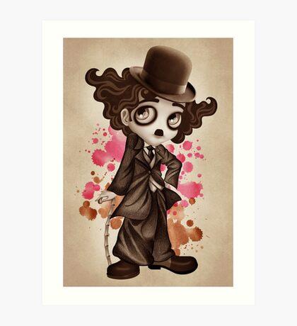The Little Tramp Art Print