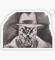 Watchmen - Rorshach Ink Portrait Sticker