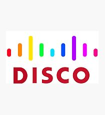 Disco (Cisco Parody) Photographic Print