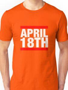 Jim Jefferies April 18th Shirt Unisex T-Shirt
